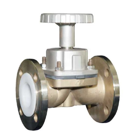 Diaphragm Valve Stainless Steel PFA Lined – PD-31 PN16 – Bueno