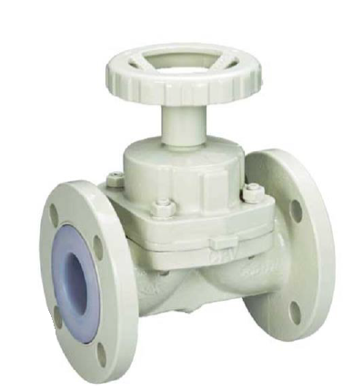 Diaphragm Valve Carbon Steel PFA Lined – PD-31W PN16 – Bueno