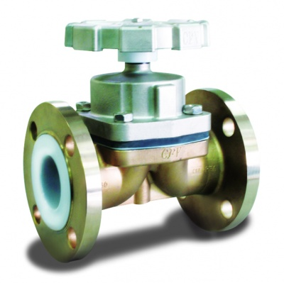 Diaphragm Valve Stainless Steel PFA Lined – PD11 CLASS 150 – Bueno
