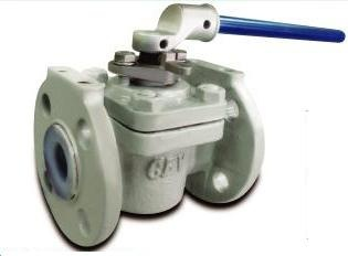 Plug Valve Ductile Iron PFA Lined – PP-11D CLASS150 – Bueno
