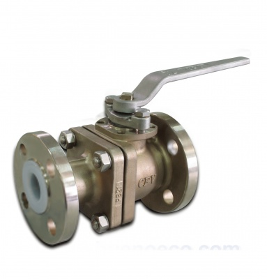 PFA Lined Stainless Steel Ball Valves (Long Pattern) – PB21 – CLASS150 – Bueno