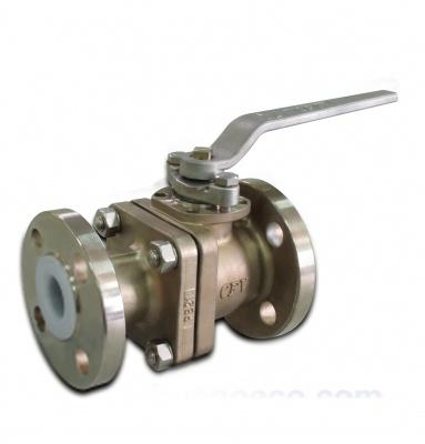 Vannes à boisseau sphérique en acier inoxydable avec revêtement PFA (modèle long) – PB21 – CLASS150 – Bueno