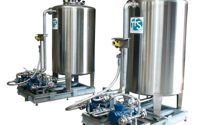 SKIDeX® IBC Range of skids with tank for injection of additives in oil storage